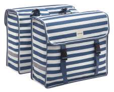 New Looxs Fiori Doble Alforja 30L - Azul Stripe