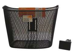 New Looxs Toscane Bicycle Basket Rapidlock Black