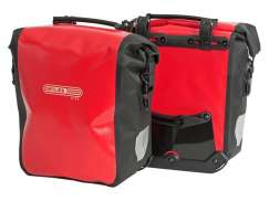 Ortlieb Pannier Frontroller City F6001 Red/Black (Pair)