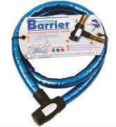Oxford Barrier Cable Lock Ø25mm 150cm - Blue