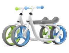 Pex Max Speed 10.5 Balance Bike Aluminum - White/Blue