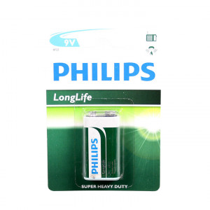 Philips Batterien 6F22 9Volt