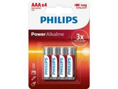 Phillips Batterier LR3 (AAA) Powerlife (4)