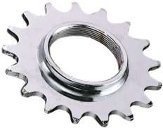 Point Sprocket 18T with Thread 1/8 Inch - Chromed