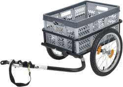 Point Transport Trailer + Box 45L With Connector / 2 Drawbar