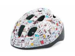 Polisport Junior Childrens Helmet Cats/White