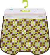 Qibbel Windschermflap Checker Groen