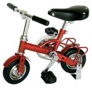 "Qu-Ax Kinderfietsje Fun Mini-Bike 6"" Rouge Métallique"