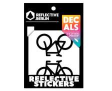 Reflective Berlin Reflective Sticker Bicycles - Black