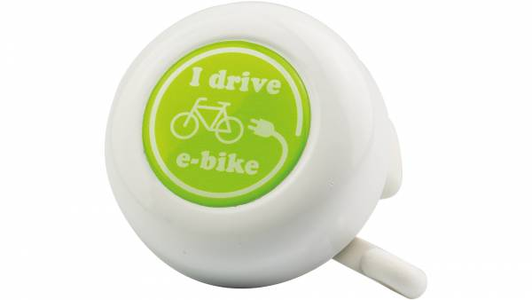 Reich I Drive E-Bike Bicycle Bell - White | Bells