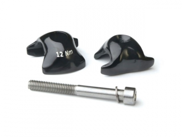 Ritchey WCS Seatpost Clamp Set 1-Bolt 8x8.5mm Alu - Black | Seat Clamp