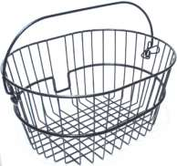 Rixen & Kaul Klickfix Bicycle Basket Front Black