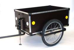 Roland Bike Trailer Jumbo 175L Low Drawbar