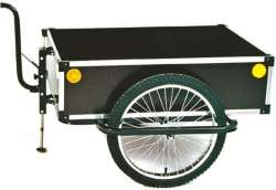 Roland Bike Trailer Profi 120L High Drawbar Black