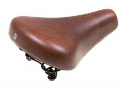 Selle Comfort Holland Style Bicycle Saddle - Dark Brown