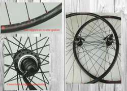 Shimano Deore Wielset 28 Inch 8/9V RM66 Disc CL - Zwart