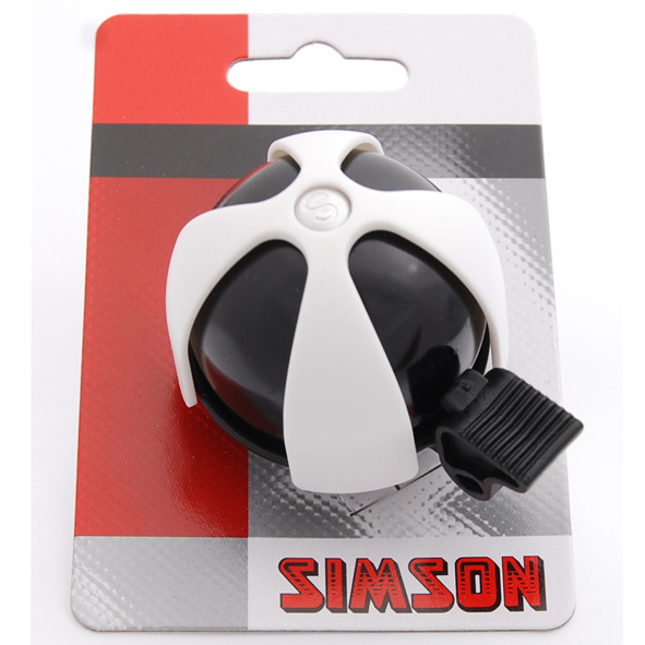 Simson Bicycle Bell Sports - Black/White | Bells