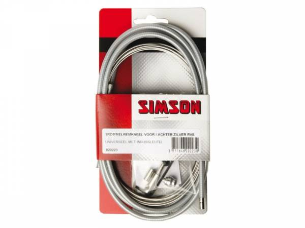 BIKE Stainless Brake Cable Kit Front and Rear