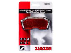 Simson Tunnel Achterlicht LED Battereien - Transparant