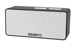 Sound 2 Go Cool Speaker Bluetooth - Zwart/Wit