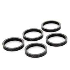 Spacer 1 1/8 5mm carbon (5)