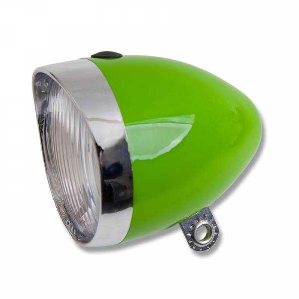 Starry Bicycle Headlight Green 5 LED Battery