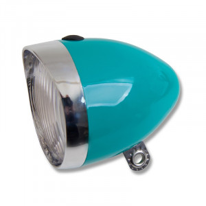Starry Bicycle Headlight Turquoise 5 LED Battery