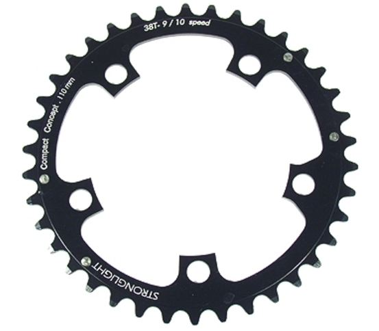 Stronglight Chainring 36 Teeth Black | chainrings_component