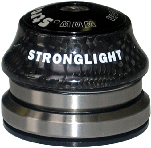 Stronglight Headset 1 1/8-1 1/4 Tapered Light In Carbon | Headsets