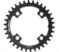 Sunrace MS Chainring 34 Teeth 12V Bcd 96mm - Black