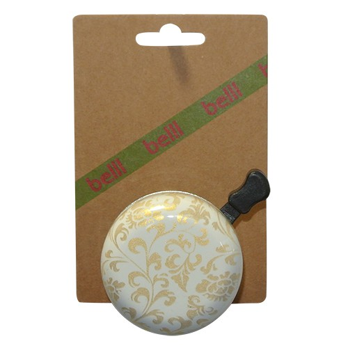 The Belll Bicycle Bell Decoration - Wit/Goud | Bells