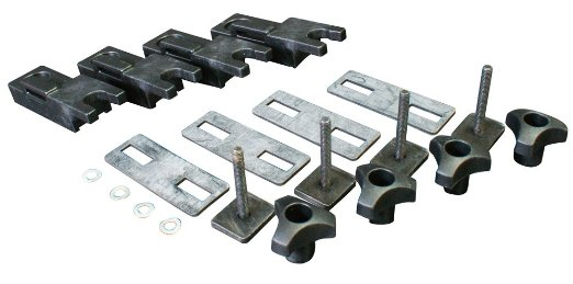 Thule T-track Adapter 696-101 - 24x30mm For 80mm U-Bolt (4)