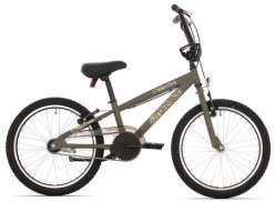 Tornado BMX Bicycle 20 Inch - Camouflage Green