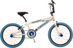 Tornado BMX Royal Bugatti 20 Inch Freestyle - Wit/Blauw