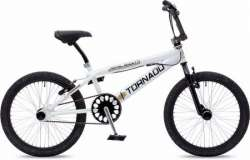 Tornado BMX Royal Bugatti 20 Tomme Freestyle - Hvid/Sort