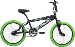Tornado BMX Royal Bugatti 20 Tomme Freestyle Matt Sort/Grøn