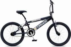 Tornado BMX Royal Bugatti 20 Tomme Freestyle Matt Sort/Sølv
