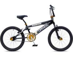 Tornado BMX Royal Bugatti 20 Tomme Freestyle - Sort/Guld