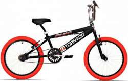 Tornado BMX Royal Bugatti 20 Tomme Freestyle - Sort/Rød