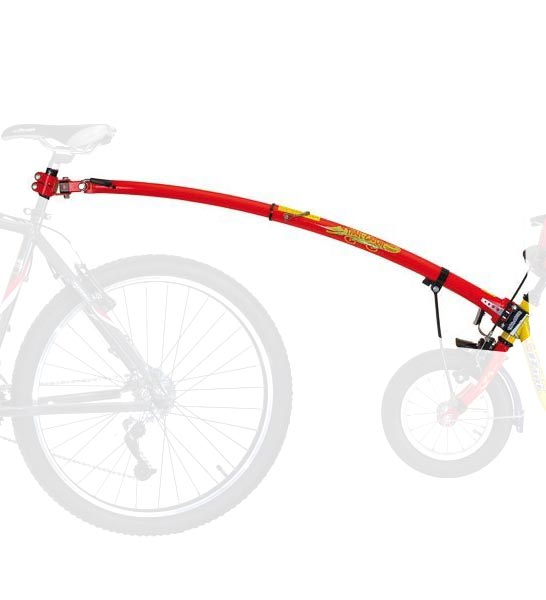 Trailgator Aanhangfiets Stang Trail Gator Rood