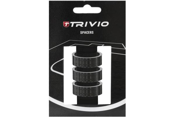 Trivio Spacer 15mm 1 1/8 Inch - Carbon (3)