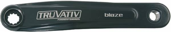 Truvativ Braccio Per Pedivella Blaze Power Spline Sinistra 170mm Matt Nero