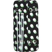 Urban Proof Dots Luggage Carrier Cushion - Black/Dots