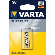 Varta Batteries 9 Volt 6F22 Longlife