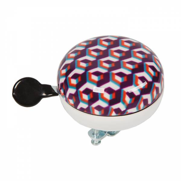 Widek Bicycle Bell Ding Dong Ø80mm Mosaic Purple | Bells