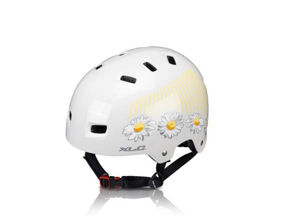 XLC Urban BMX Helmet White/Flower